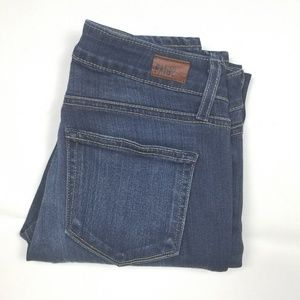 PAIGE Verdugo Ankle Nottingham Dark Wash Jeans 26